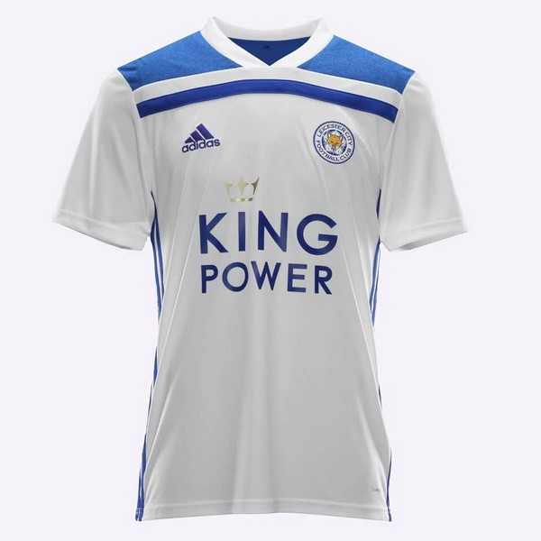 Camiseta Leicester City Tailandia 3ª Kit 2018 2019 Blanco