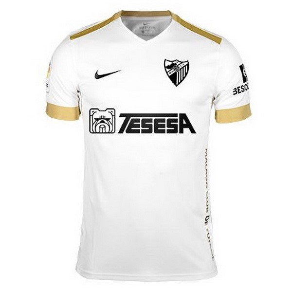 Camiseta Málaga 3ª Kit 2018 2019 Blanco
