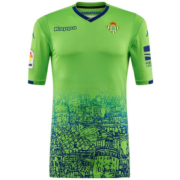 Camiseta Real Betis 3ª Kit 2018 2019 Verde