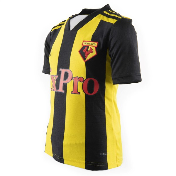 Camiseta Watford 1ª Kit 2018 2019 Amarillo