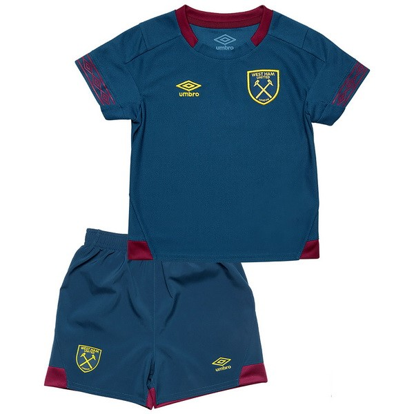 Camiseta West Ham United 2ª Kit Niños 2018 2019 Azul