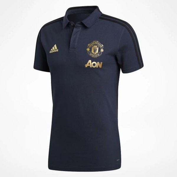 Polo Manchester United 2018 2019 Azul
