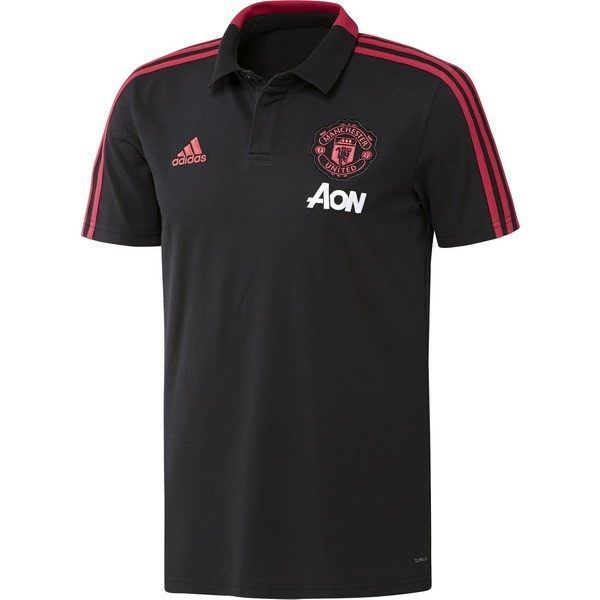 Polo Manchester United 2018 2019 Gris