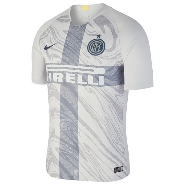 Tailandia Camiseta Inter Milán 3ª Kit 2018 2019 Blanco