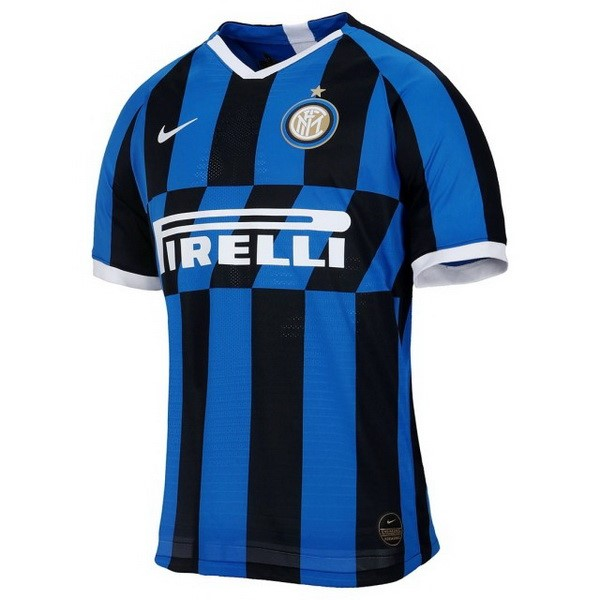Camiseta Inter Milan 1ª Kit 2019 2020 Azul