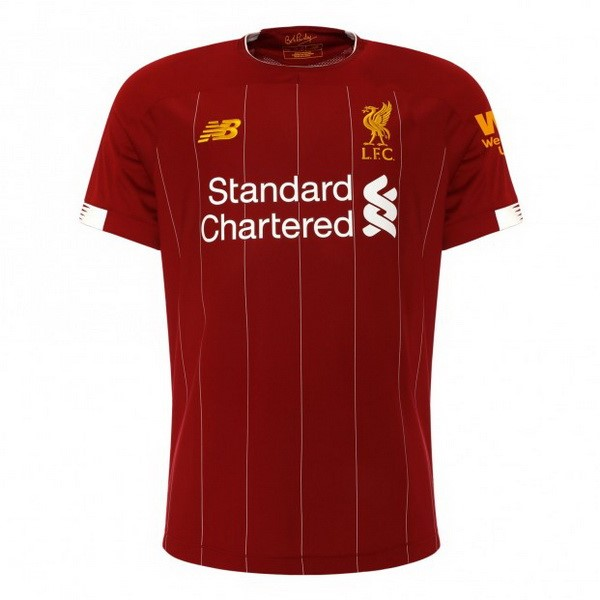 Camiseta Liverpool 1ª Kit 2019 2020 Rojo