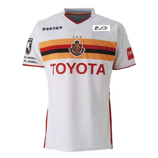 Camiseta Nagoya Grampus 2ª Kit 2019 2020 Blanco