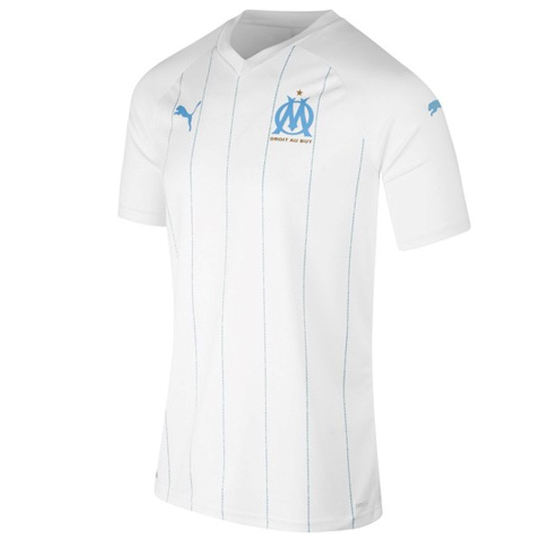 Tailandia Camiseta Marsella 1ª Kit 2019 2020 Blanco