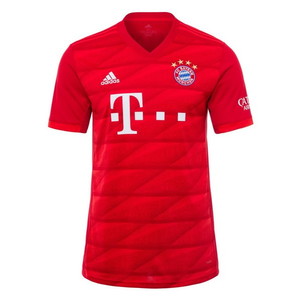 Camiseta Bayern Munich 1ª Kit 2019 2020 Rojo