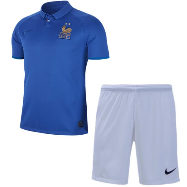 Camiseta Francia Niño 100th Azul