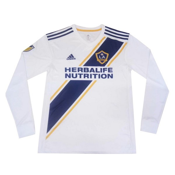 Camiseta LA Galaxy 1ª Kit ML 2019 2020 Blanco