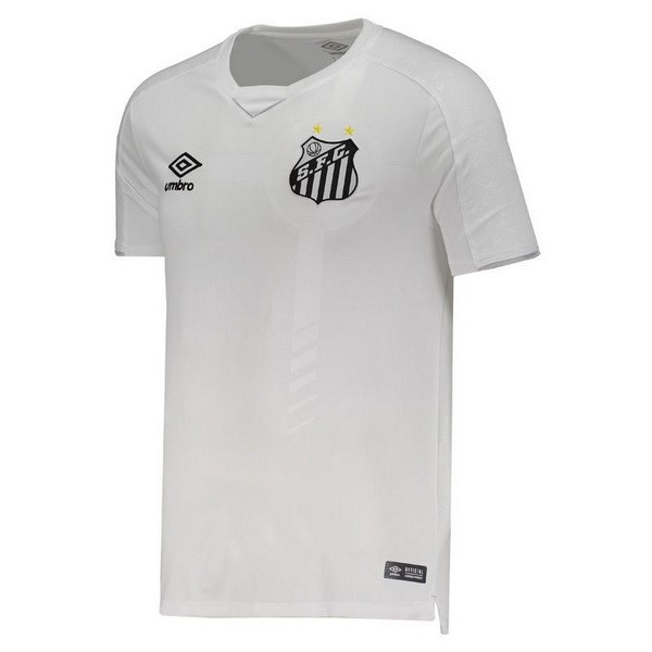 Camiseta Santos 1ª Kit 2019 2020 Blanco