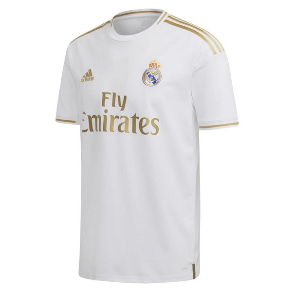 Tailandia Camiseta Real Madrid 1ª Kit 2019 2020 Blanco
