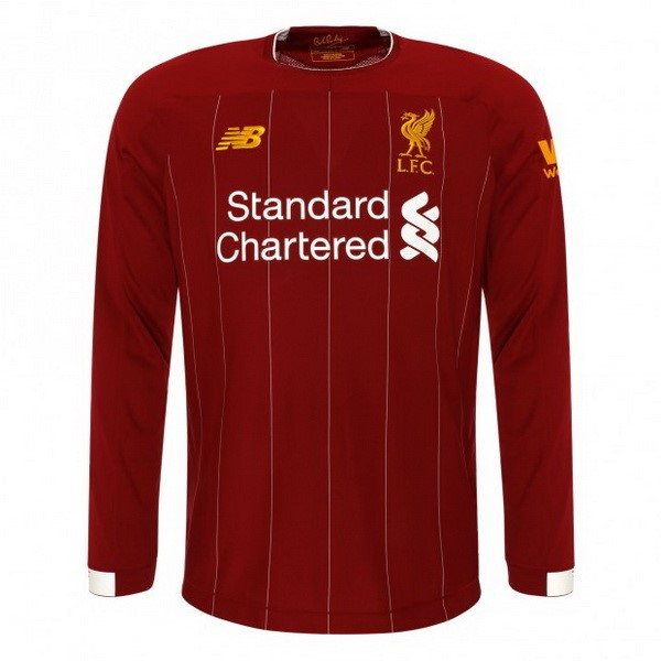 Camiseta Liverpool 1ª Kit ML 2019 2020 Rojo