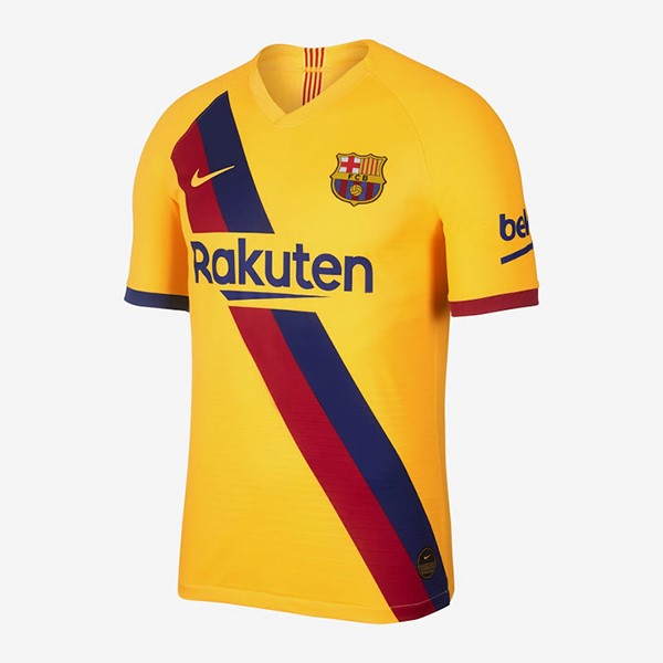 Camiseta Barcelona 2ª Kit 2019 2020 Amarillo