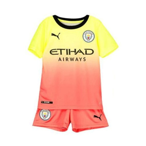 Camiseta Manchester City 3ª Kit Niño 2019 2020 Negro