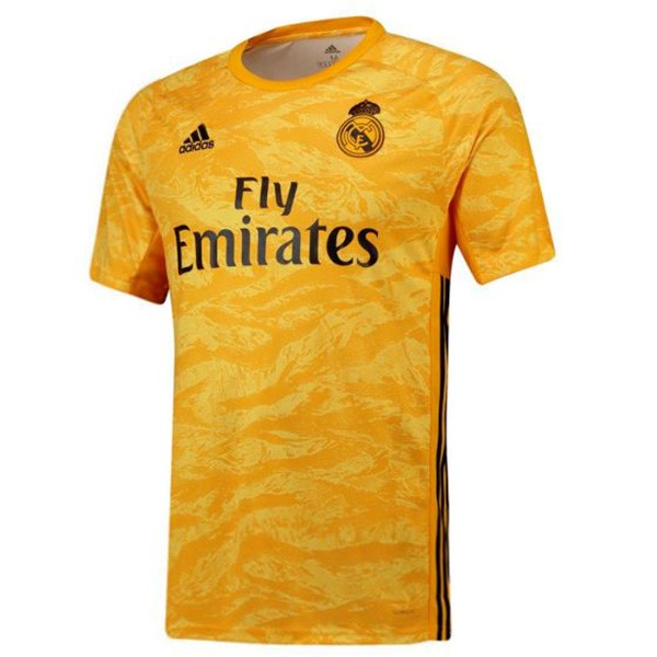 Camiseta Real Madrid 1ª Kit Portero 2019 2020 Amarillo