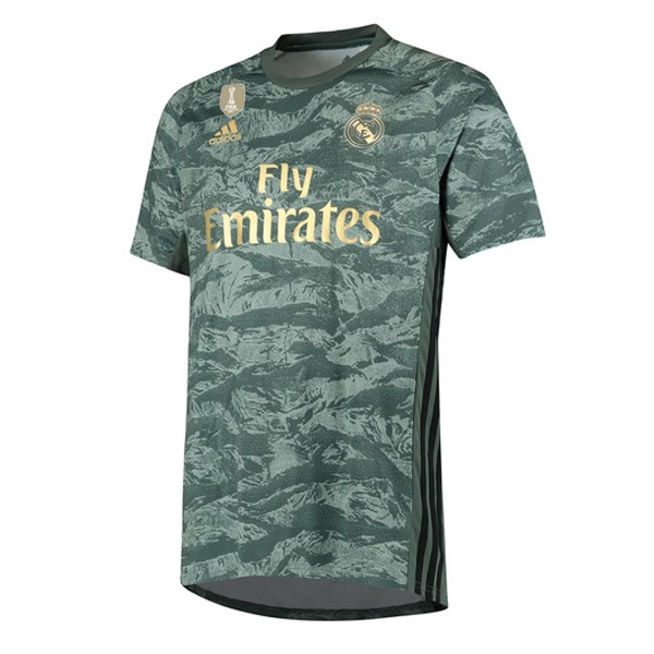 Camiseta Real Madrid 2ª Kit Portero 2019 2020 Verde