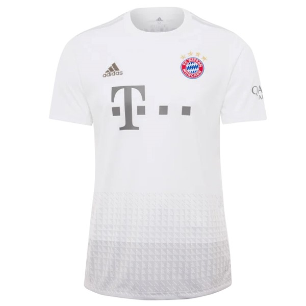Camiseta Bayern Munich 2ª Kit 2019 2020 Blanco