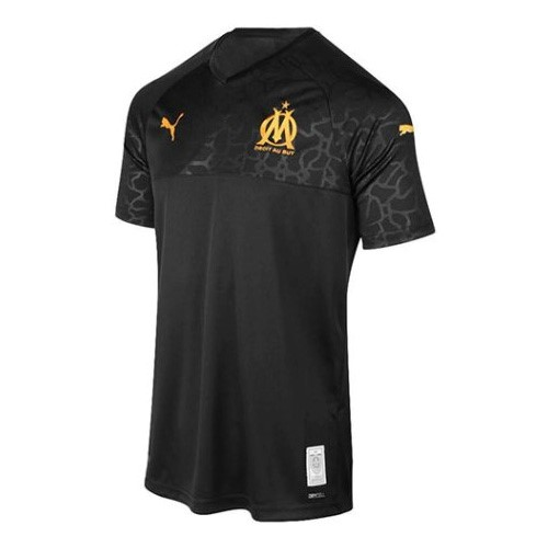 Camiseta Marsella 3ª Kit 2019 2020 Negro