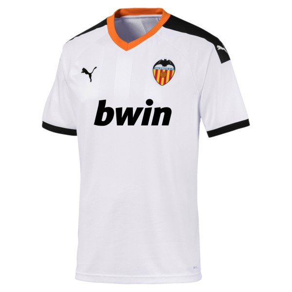 Camiseta Valencia 1ª Kit 2019 2020 Blanco
