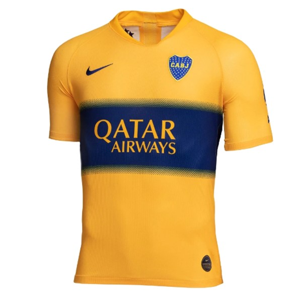 Camiseta Boca Juniors 2ª Kit 2019 2020 Amarillo
