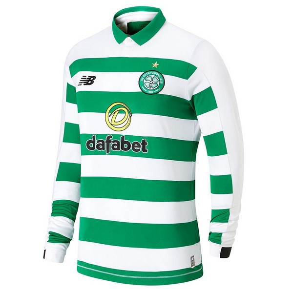 Camiseta Celtic 1ª Kit ML 2019 2020 Verde