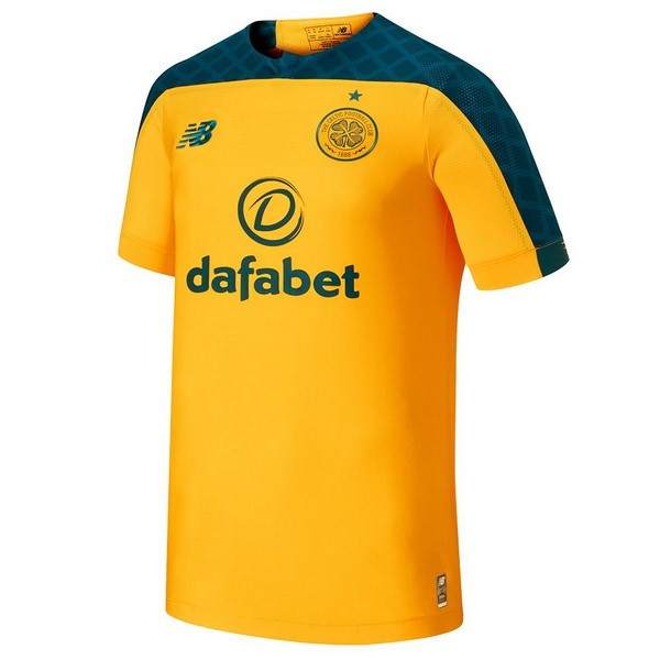 Camiseta Celtic 2ª Kit 2019 2020 Amarillo