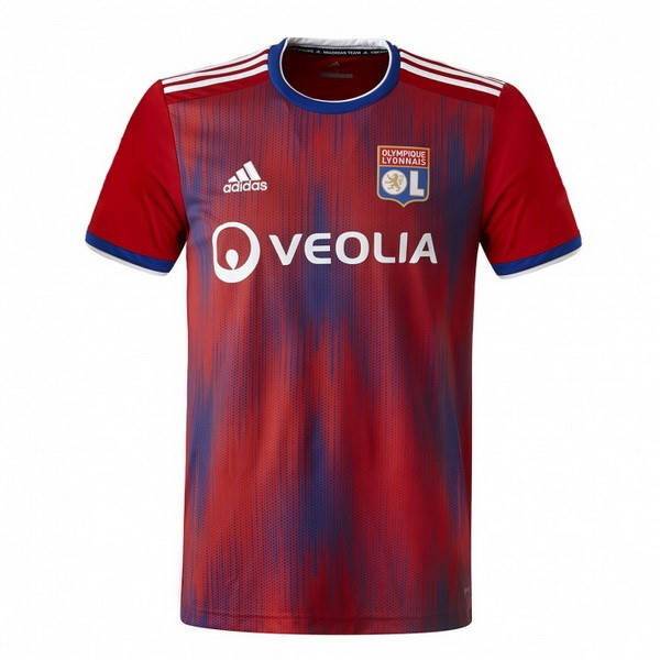 Camiseta Lyon 3ª Kit 2019 2020 Rojo
