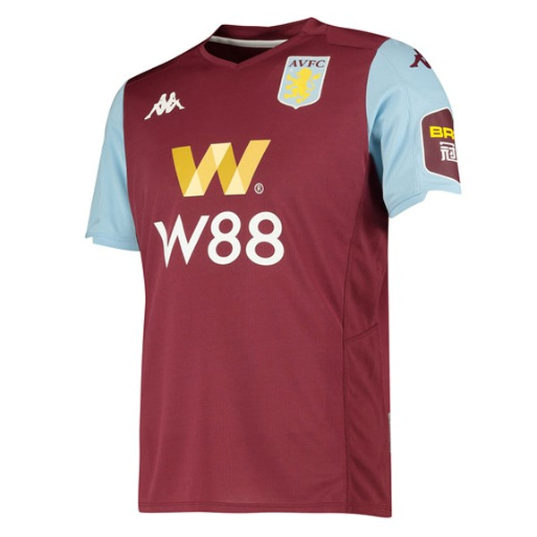 Camiseta Aston Villa 1ª Kit 2019 2020 Rojo