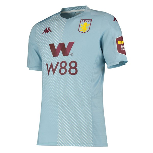 Camiseta Aston Villa 2ª Kit 2019 2020 Azul