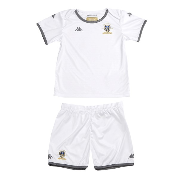 Camiseta Leeds United 1ª Kit Niños 2019 2020 Blanco