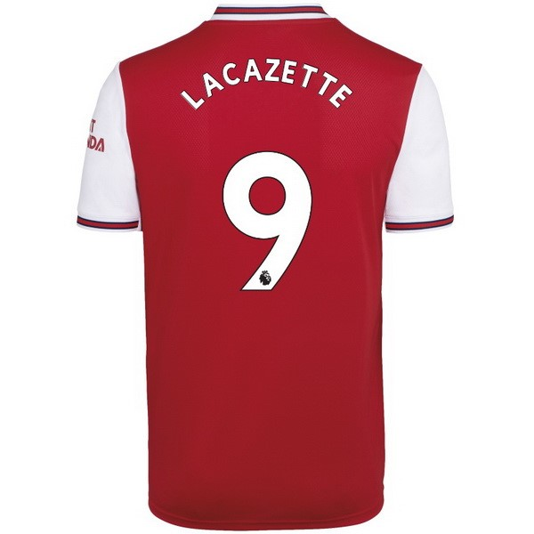 Camiseta Arsenal NO.9 Lacazette 1ª Kit 2019 2020 Rojo