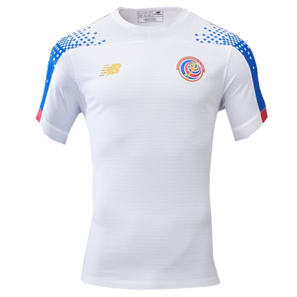 Tailandia Camiseta Costa Rica 2ª Kit 2019 Blanco