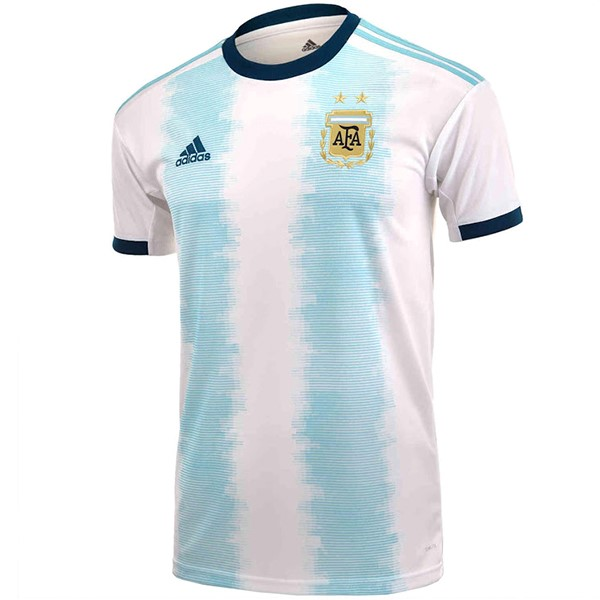 Camiseta Argentina 1ª Kit 2019 Blanco