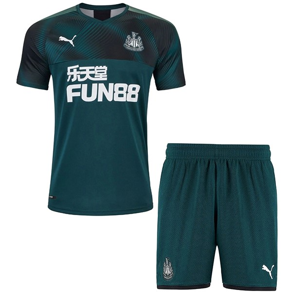 Camiseta Newcastle United 2ª Kit Niños 2019 2020 Verde
