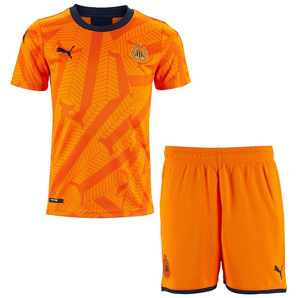 Camiseta Newcastle United 3ª Kit Niños 2019 2020 Naranja