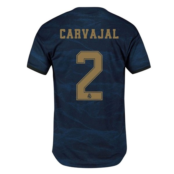 Camiseta Real Madrid NO.2 Carvajal 2ª Kit 2019 2020 Azul