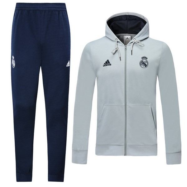 Chandal Real Madrid 2019 2020 Azul Gris