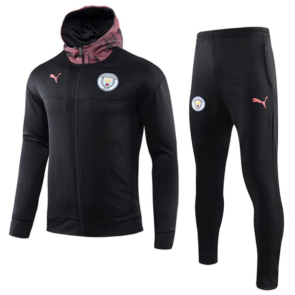 Chandal Manchester City 2019 2020 Rosa Negro