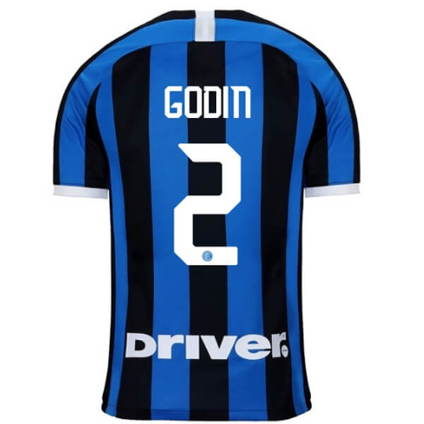Camiseta Inter Milan NO.2 Godin 1ª Kit 2019 2020 Azul