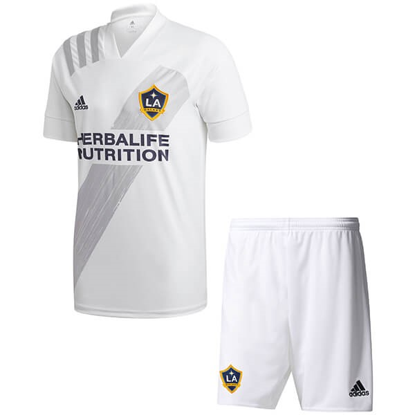Camiseta Los Angeles Galaxy 1ª Kit Niños 2020 2021 Blanco
