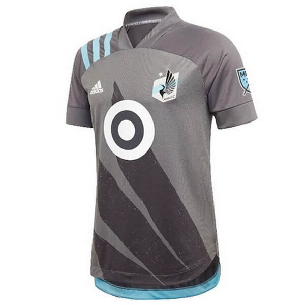 Tailandia Camiseta Minnesota United 1ª Kit 2020 2021 Gris