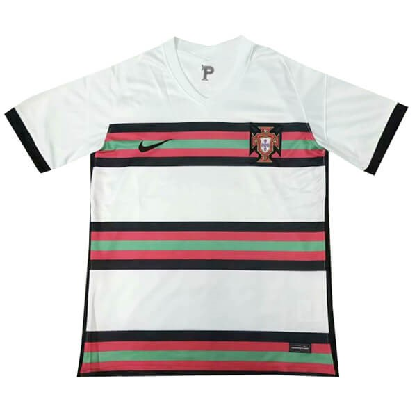 Tailandia Camiseta Portugal 2ª Kit 2020 Blanco