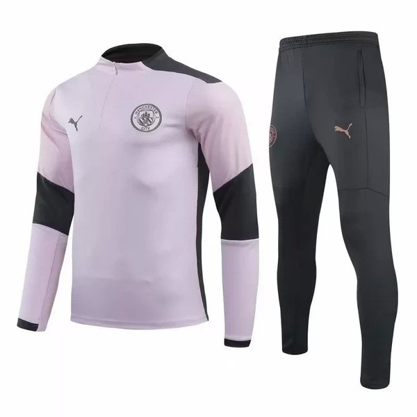 Chandal Manchester City 2020 2021 Rosa Negro