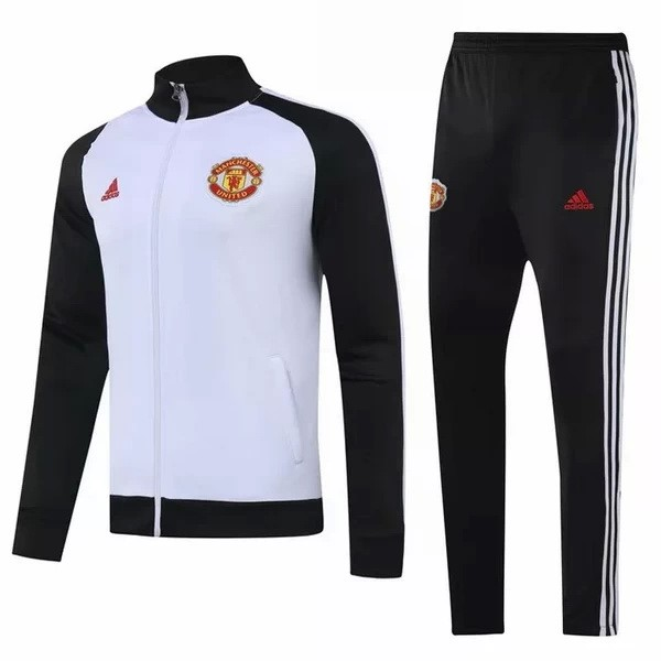Chandal Manchester United 2020 2021 II Blanco Negro
