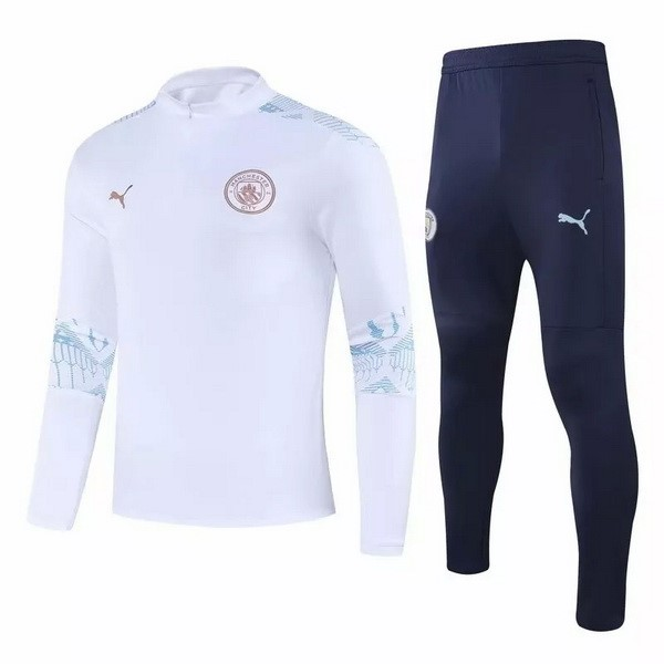Chandal Manchester City 2020 2021 Blanco Azul