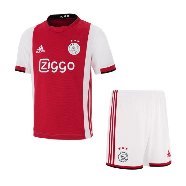 Camiseta Ajax 1ª Kit Niño 2019 2020 Rojo