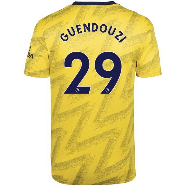 Camiseta Arsenal NO.29 Guendouzi 2ª Kit 2019 2020 Amarillo