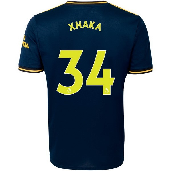 Camiseta Arsenal NO.34 Xhaka 3ª Kit 2019 2020 Azul